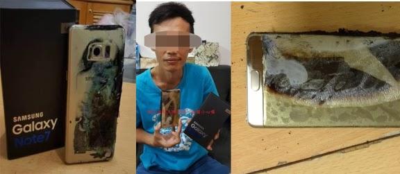 Baterai Meledak Saat di Charge, Samsung Galaxy Note 7 Resmi Ditarik Dari Pasaran