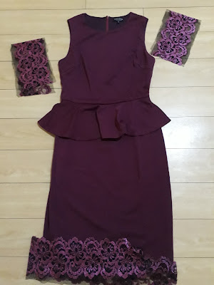297366054a10d Pink MagaLine  Refashion  Adding Sleeves to a Sleeveless Dress