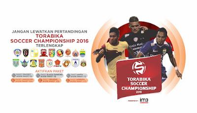 Jadwal, Hasil dan Klasemen Sementara Torabika Soccer Championship TSC 2016
