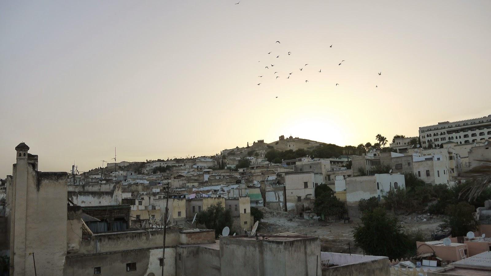 Sunset from Palais Amani