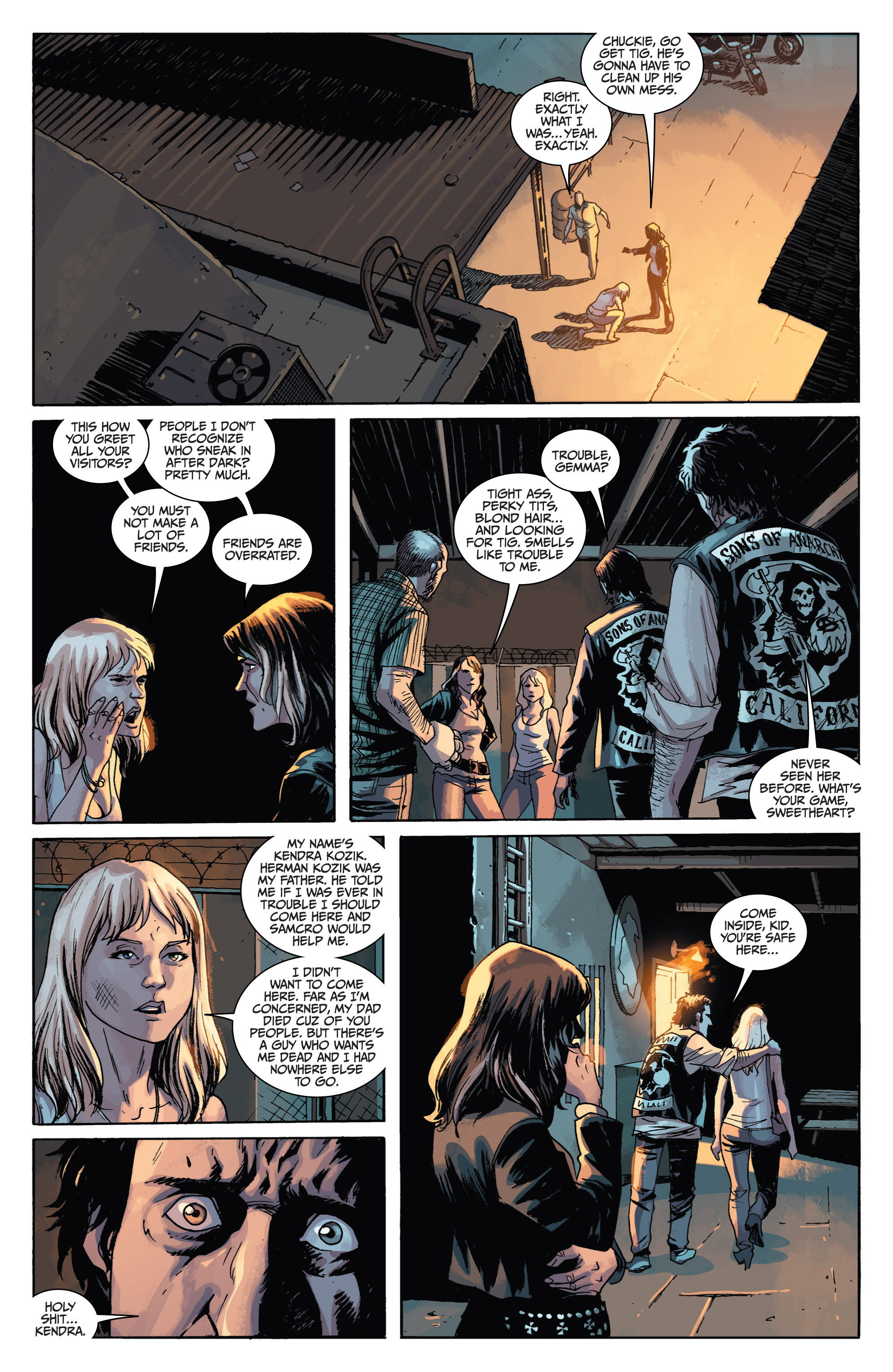 Read online Sons of Anarchy comic -  Issue #1 - 23