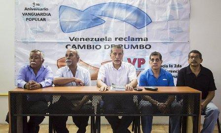 Vanguardia Popular: Chavismo desencantado debe ser incorporado a gobierno de unidad nacional