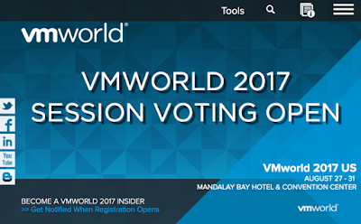 Vote for VMworld 2017 Session 2562 - Automate and Align vRealize Operations with Business Outcomes
