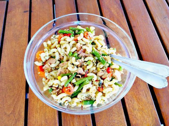 Tuna Pasta Salad Recipe - Ioanna's Notebook