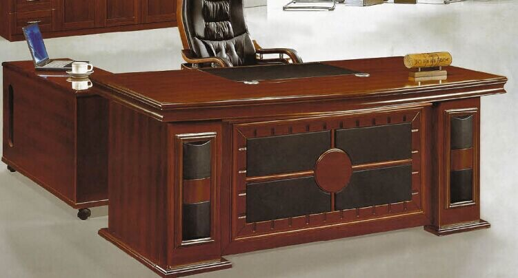 Imported Office Table Size 5 2 With Side Drawers Price Rs 17 000