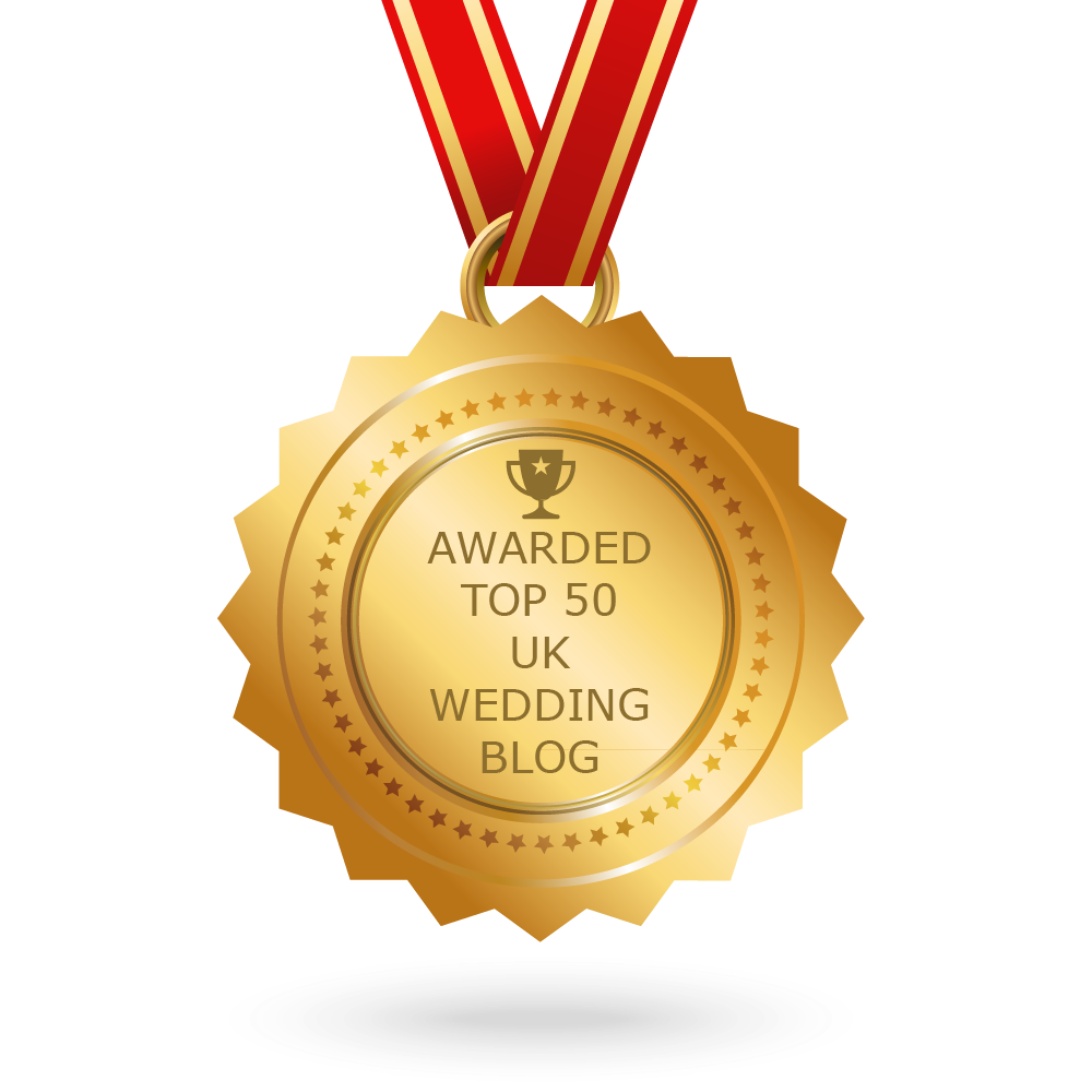 Top 50 wedding blogs uk wedding websites uk learn how to add badge on your blog junglespirit Images