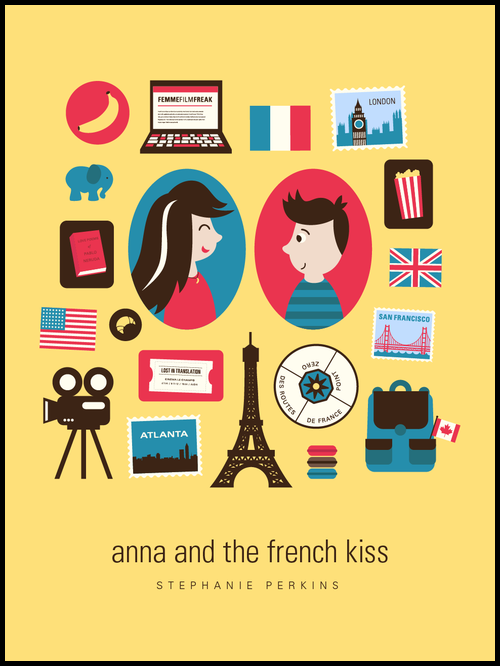 French School Book Cover : Última lectura anna and the french kiss un beso en parís