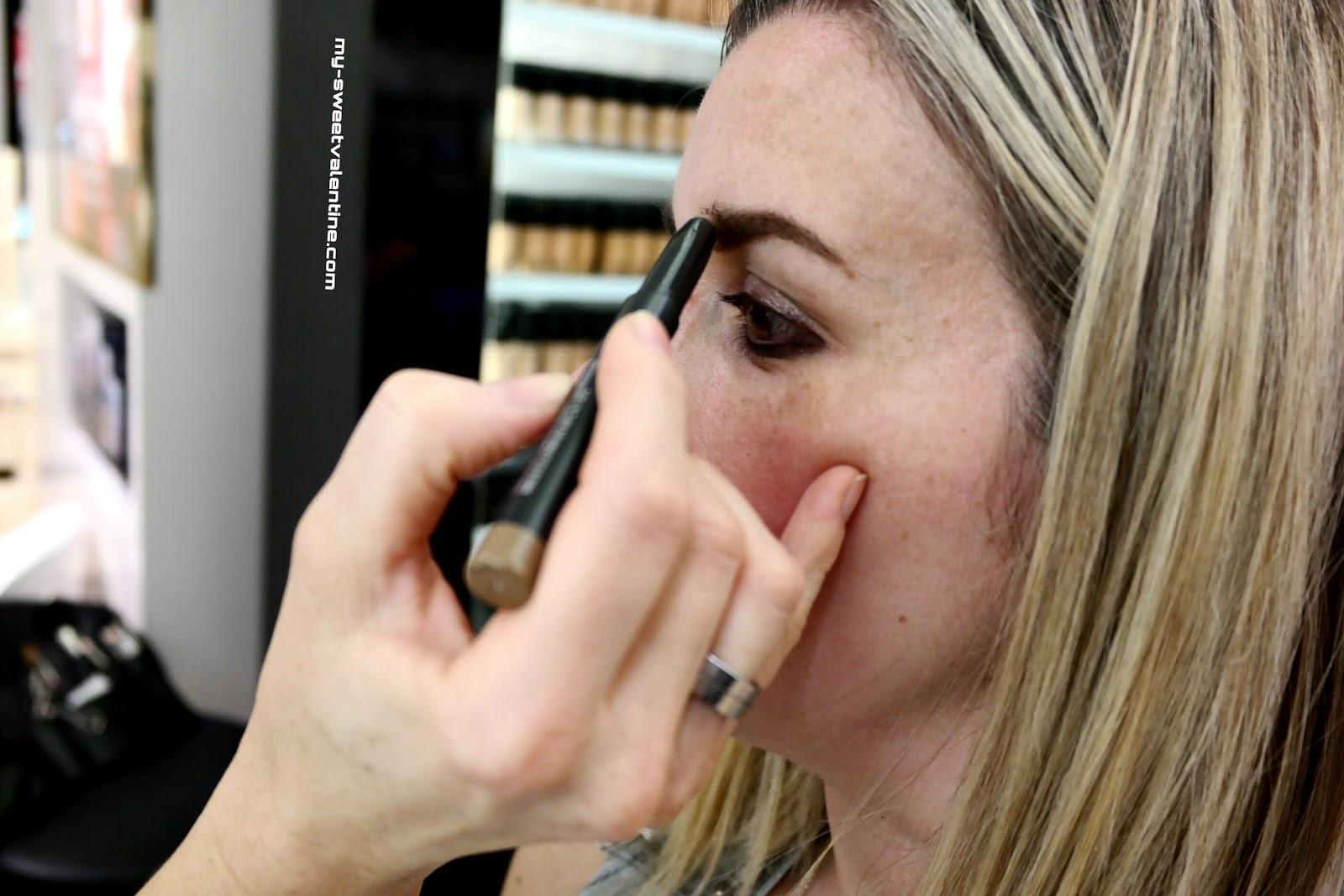 How To Use Mac Spiked Eyebrow Pencil The Eyebrow