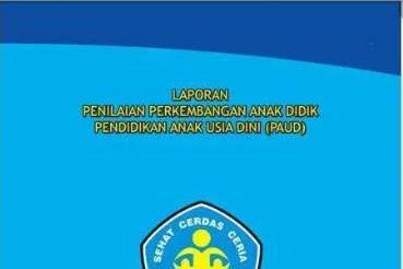 Aplikasi Rapor PAUD K13