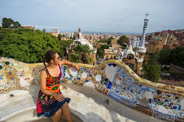Travel to Barcelona: O expediție în capitala Catalunyei. Silviu Pal Blog. #TravelBlogger Parc Guell