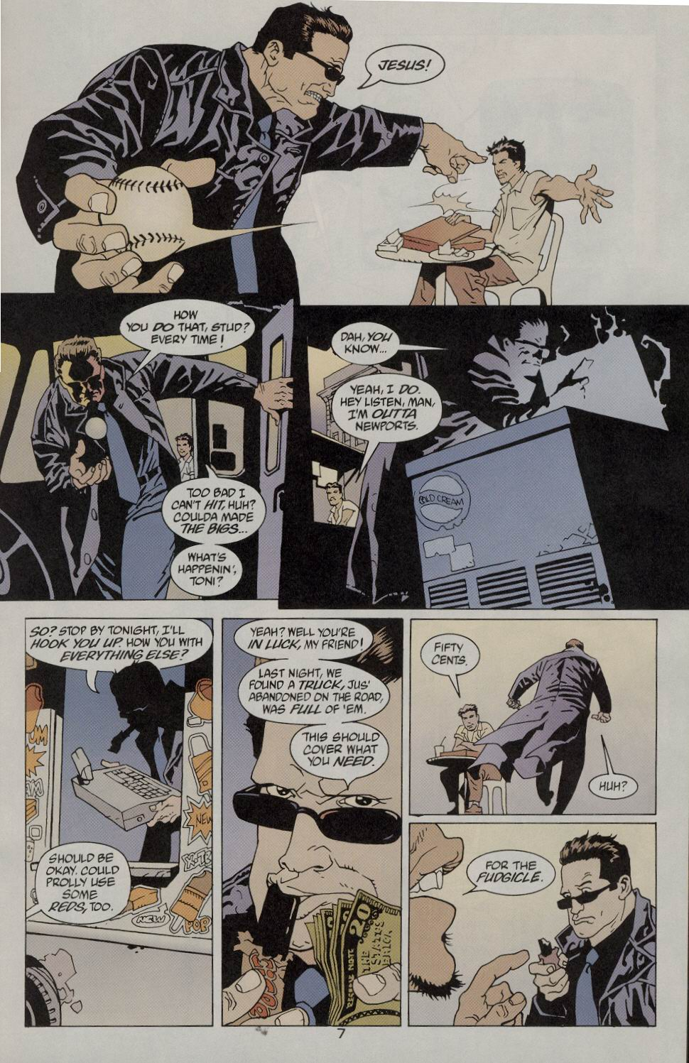 Read online 100 Bullets comic -  Issue #9 - 9