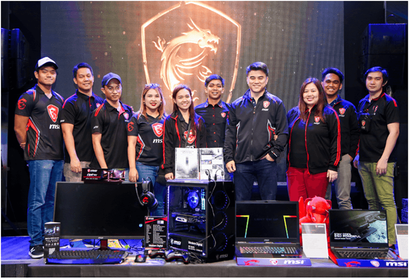 MSI celebrated 2018 with the Dragon Army Gathering year-end party