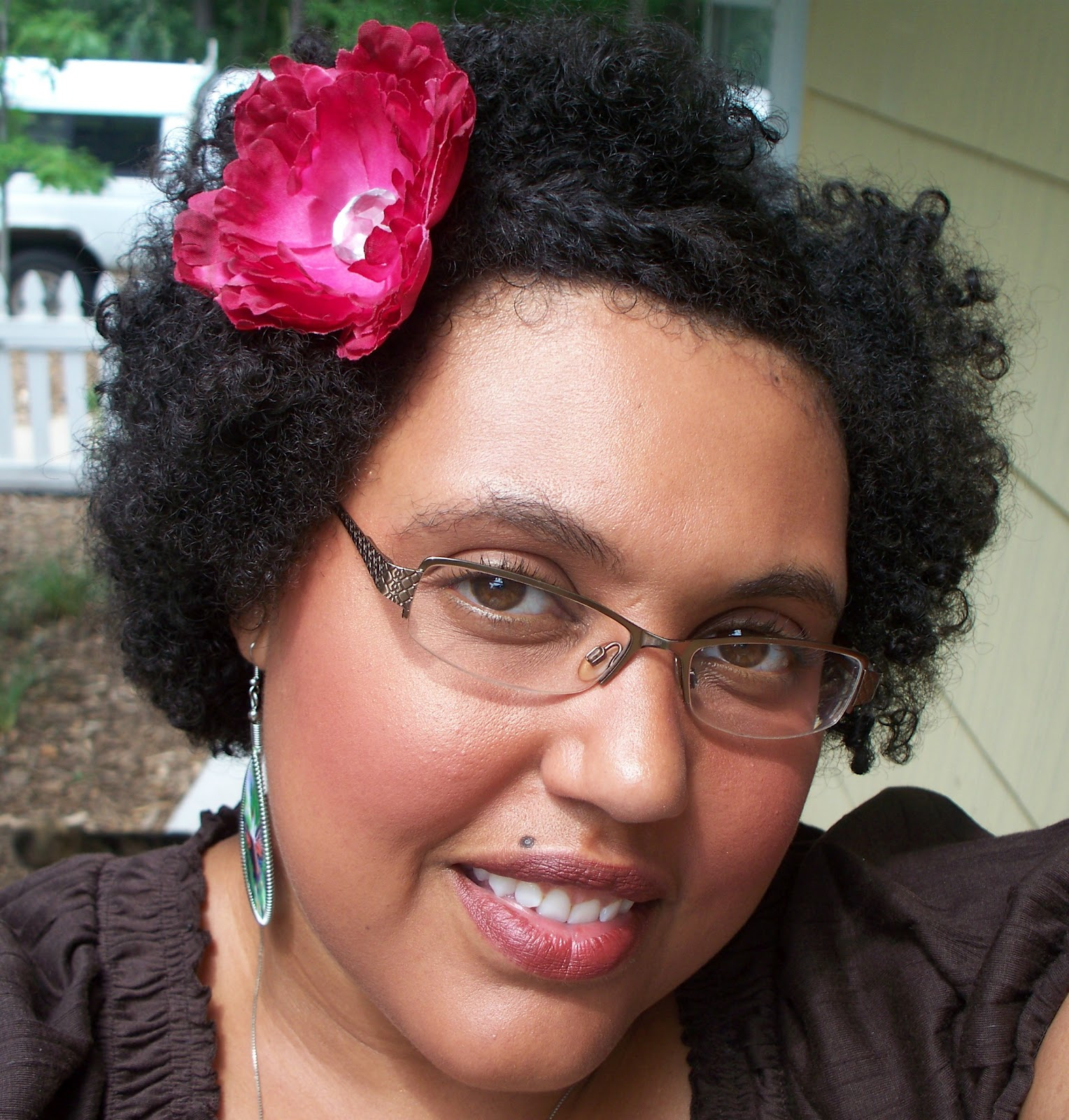 Bantu Knot Out On Short Natural Hair C