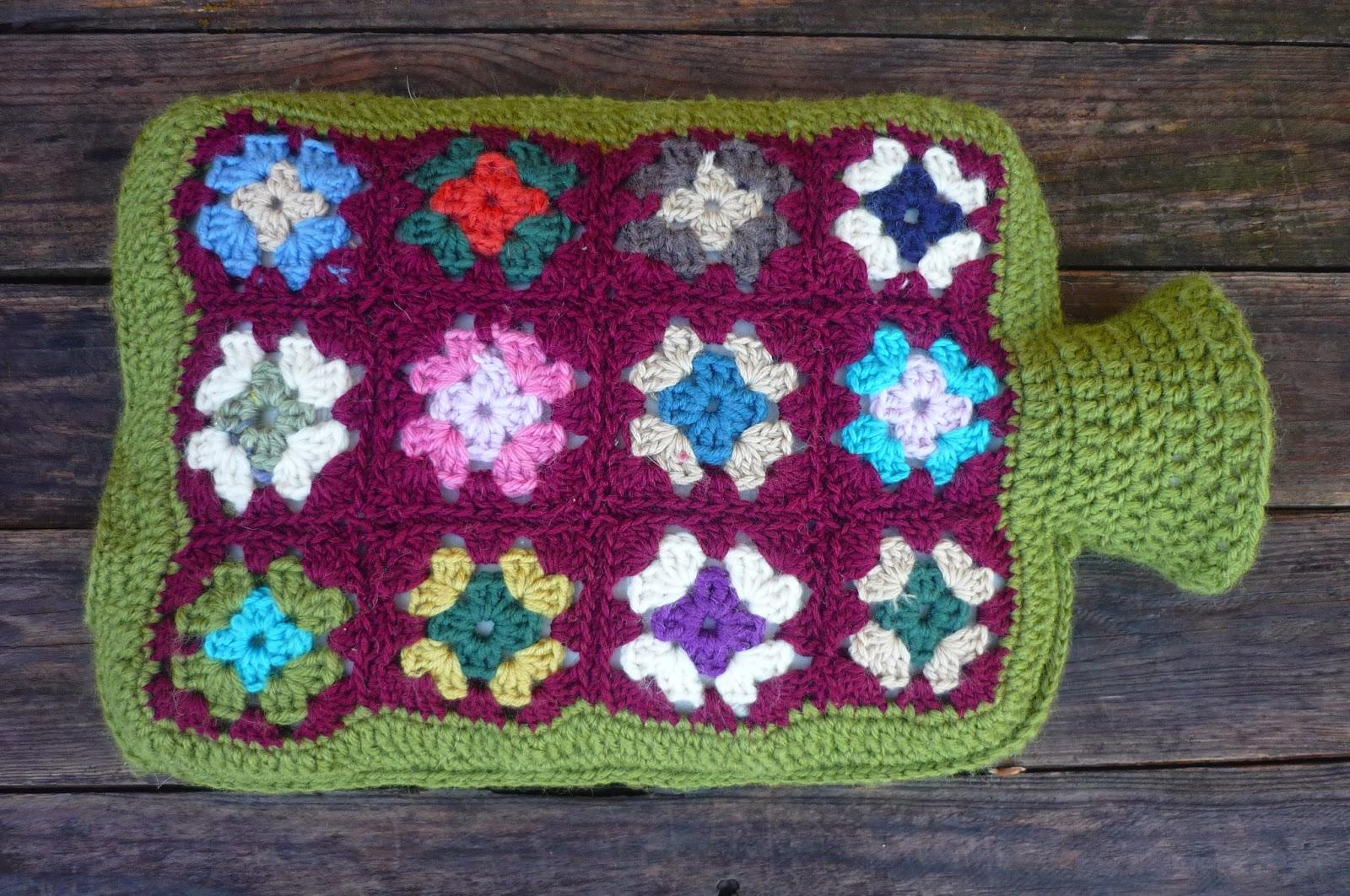 Asombroso Bolsa De Agua Caliente Patrón De Crochet Cubierta Foto ...