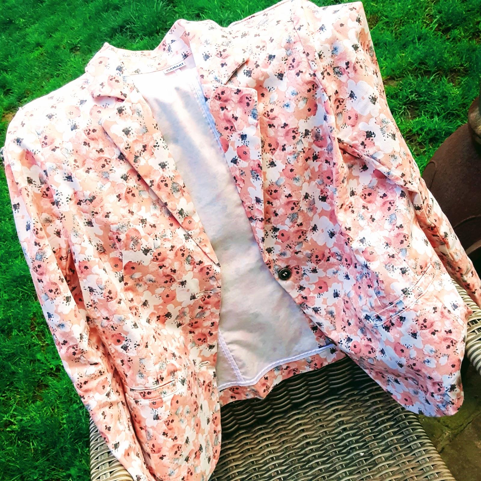 Damart Spring Floral Blazer Review: