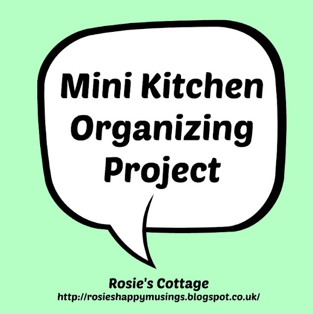 Mini Kitchen Organizing Project