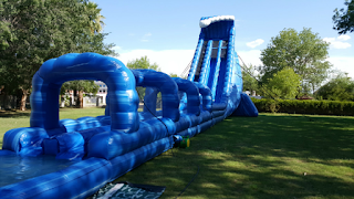 Largest inflatable water slide rentals phoenix AZ
