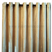 Gold Eyelet Curtain, Nigeria