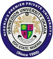 Igbinedion University Okada  2017/2018 Undergraduate Admission Form Out