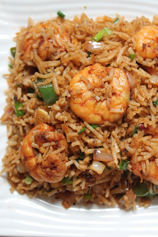Prawn fried rice recipe shrimp fried rice recipe yummy tummy ccuart Choice Image