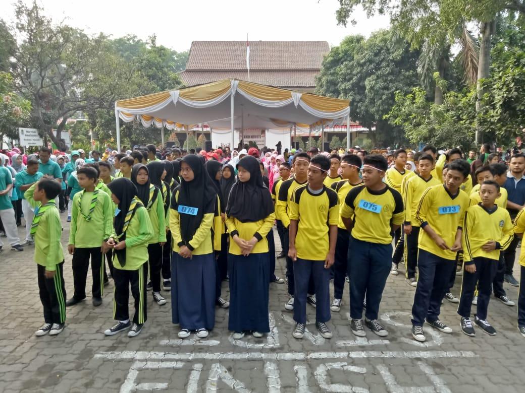 Meriahkan HUT RI Ke 73 Kecamatan Rawalumbu Adakan Gerak