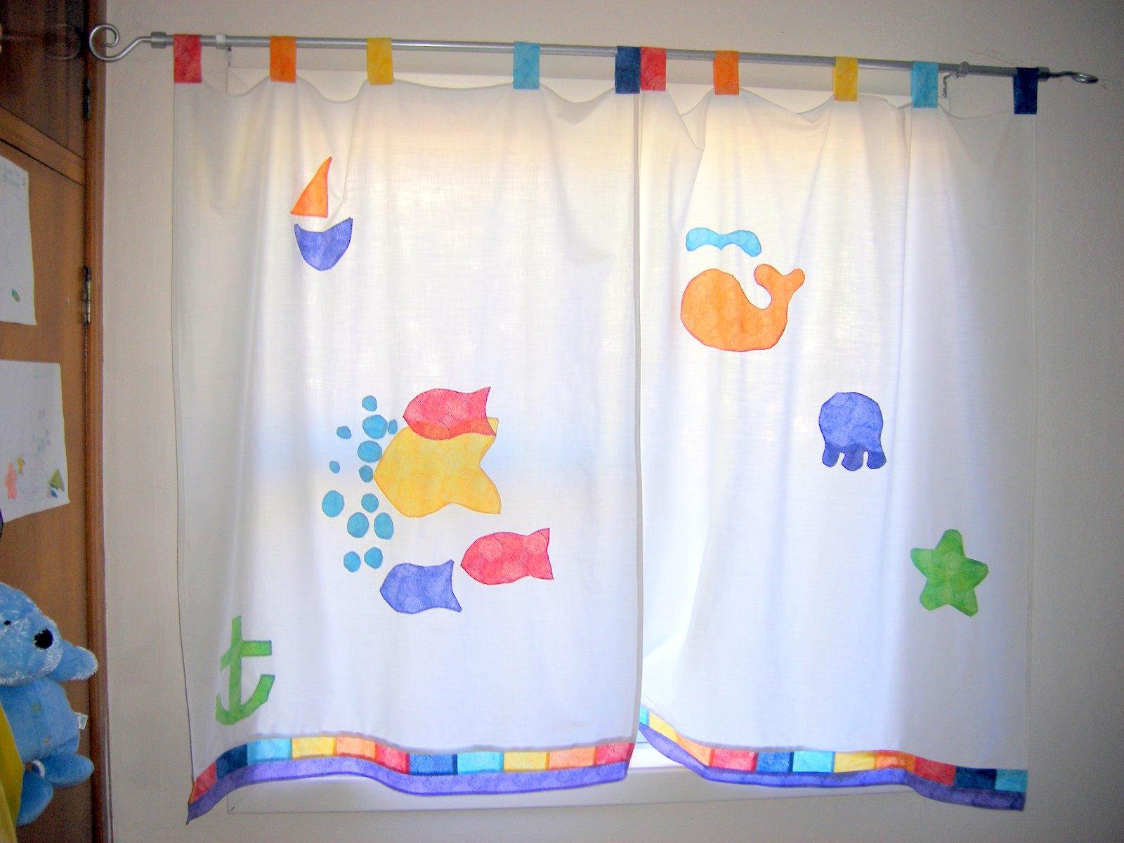 Cortinas para el hogar ideas para hacer cortinas para ni os - Modelos de cortinas infantiles ...