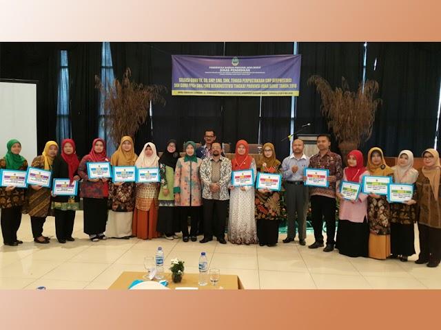 Inilah Daftar Guru Berprestasi Tingkat Provinsi Jawa Barat 2018
