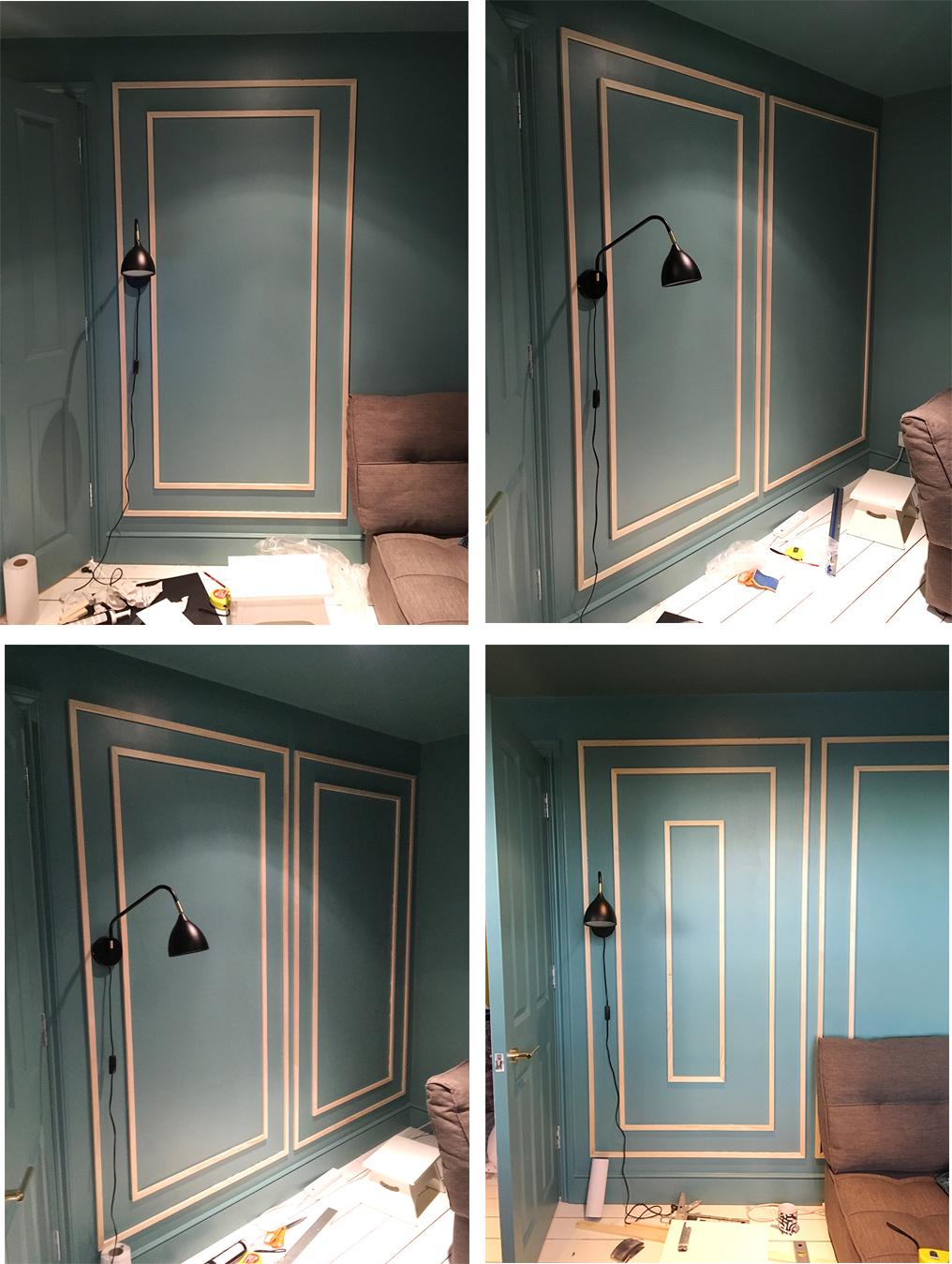 Decorative Wall Moulding DIY | F R E N C H F O R P I N E A ...