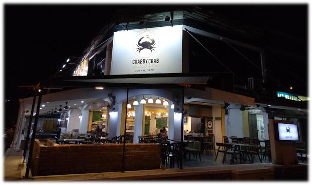 Crabby Crab Destinasi Penggemar Makanan Laut di Shah Alam