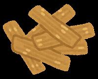 ラーメンのトッピングのイラスト(メンマ)