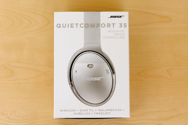 BOSE QuietComfort 35 外盒