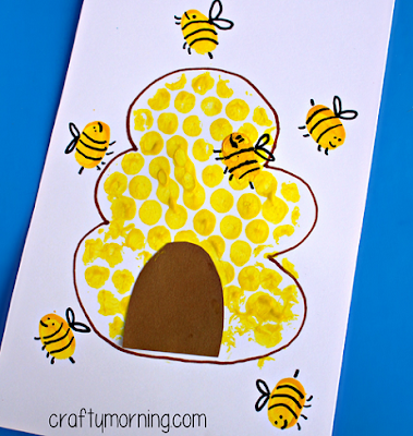 bubble wrap bee hive