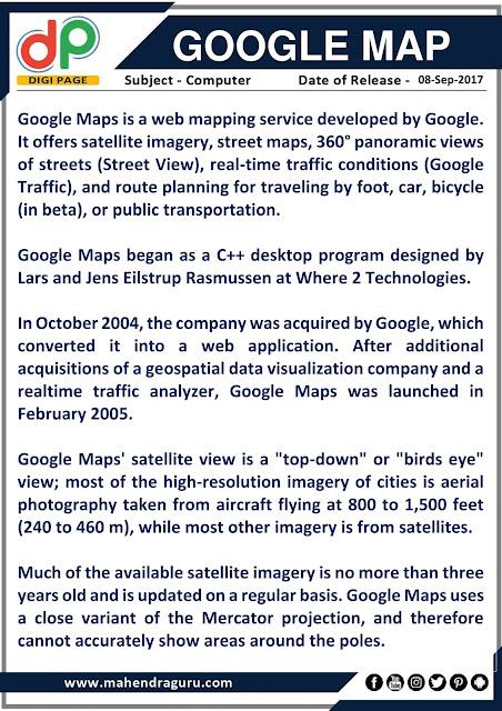 DP | Google Map | 08 - 09 - 17
