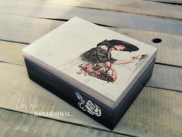 pudełko ombre