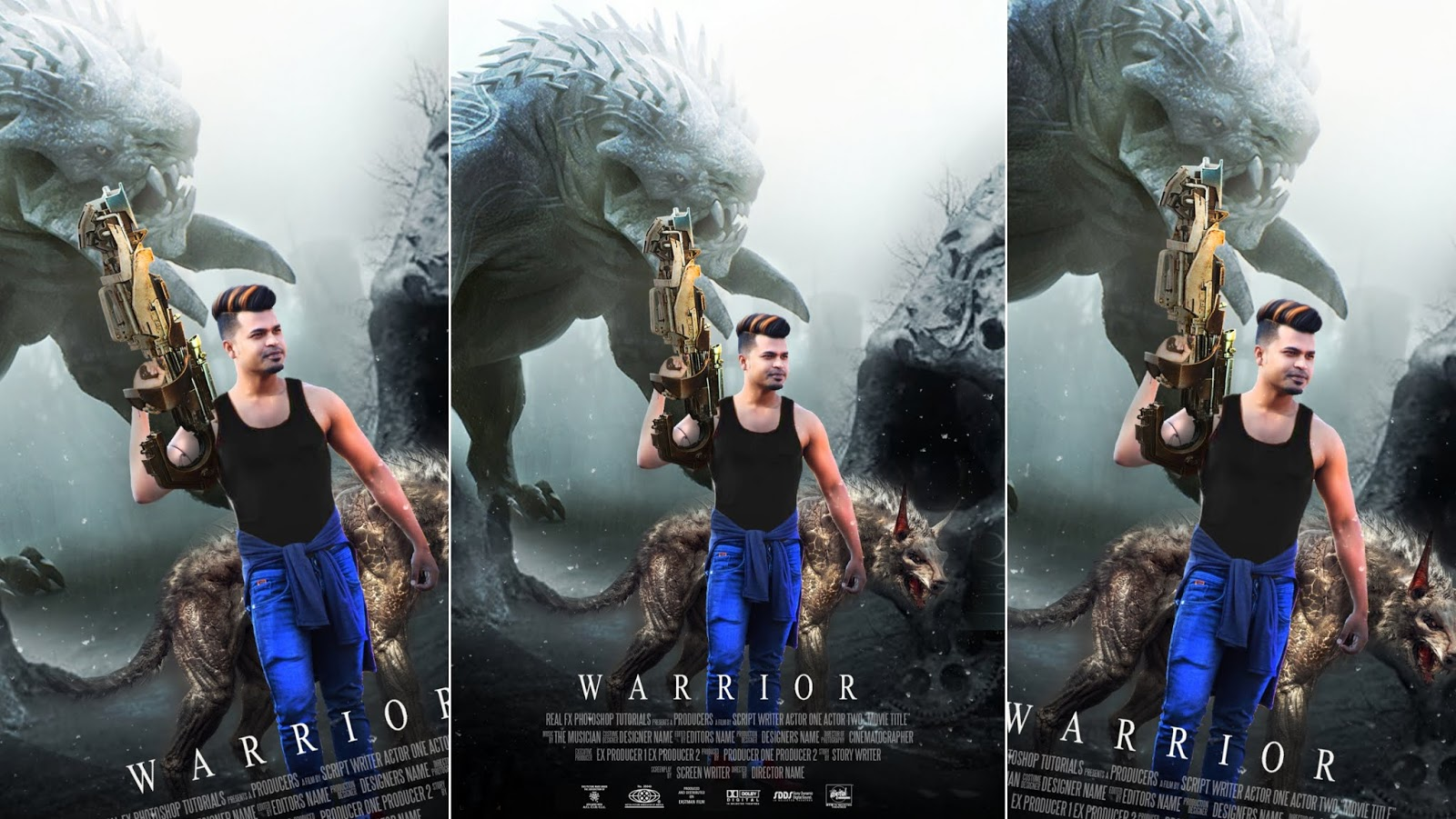 Warrior Movie Poster Photo Editing Background Png Download