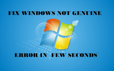 """Are you frustrated of your Windows displaying error """"Windows Not Genuine""""? Simply Fix it."""