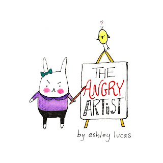 The Angry Artist Book by Ashley Lucas