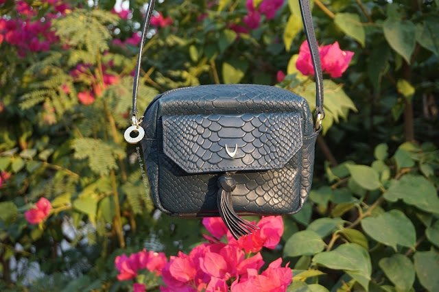Hidesign Ellie Mini Bag in Midnight Blue