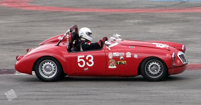 #53 MG race car