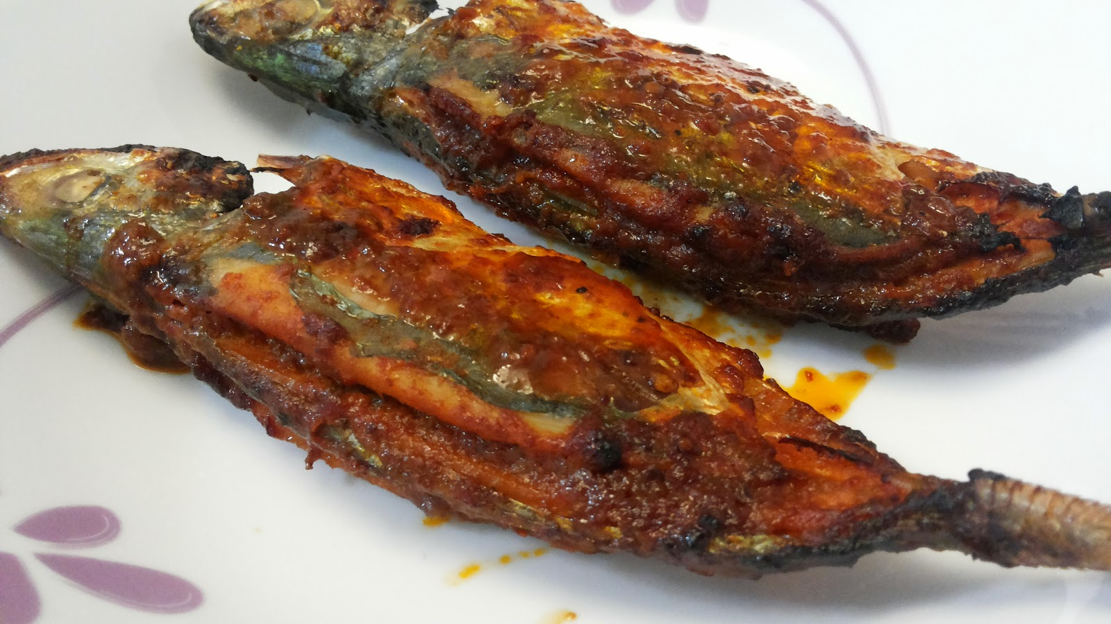 Krystal wee recipes air fried selar fish stuffed with for How long to air fry fish