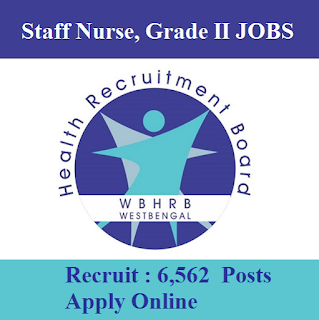 West Bengal Health Recruitment Board, WBHRB, WB, West Bengal, Staff Nurse, Graduation, freejobalert, Sarkari Naukri, Latest Jobs, wbhrb logo