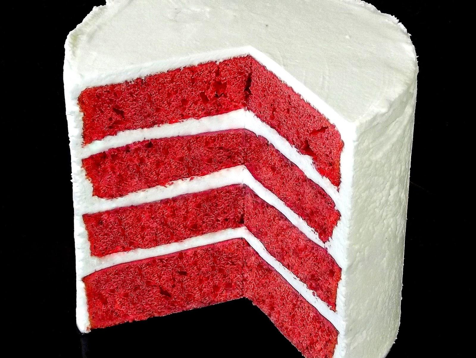 Backen Kann Jeder Red Velvet Cake Roter Samtkuchen Rezept