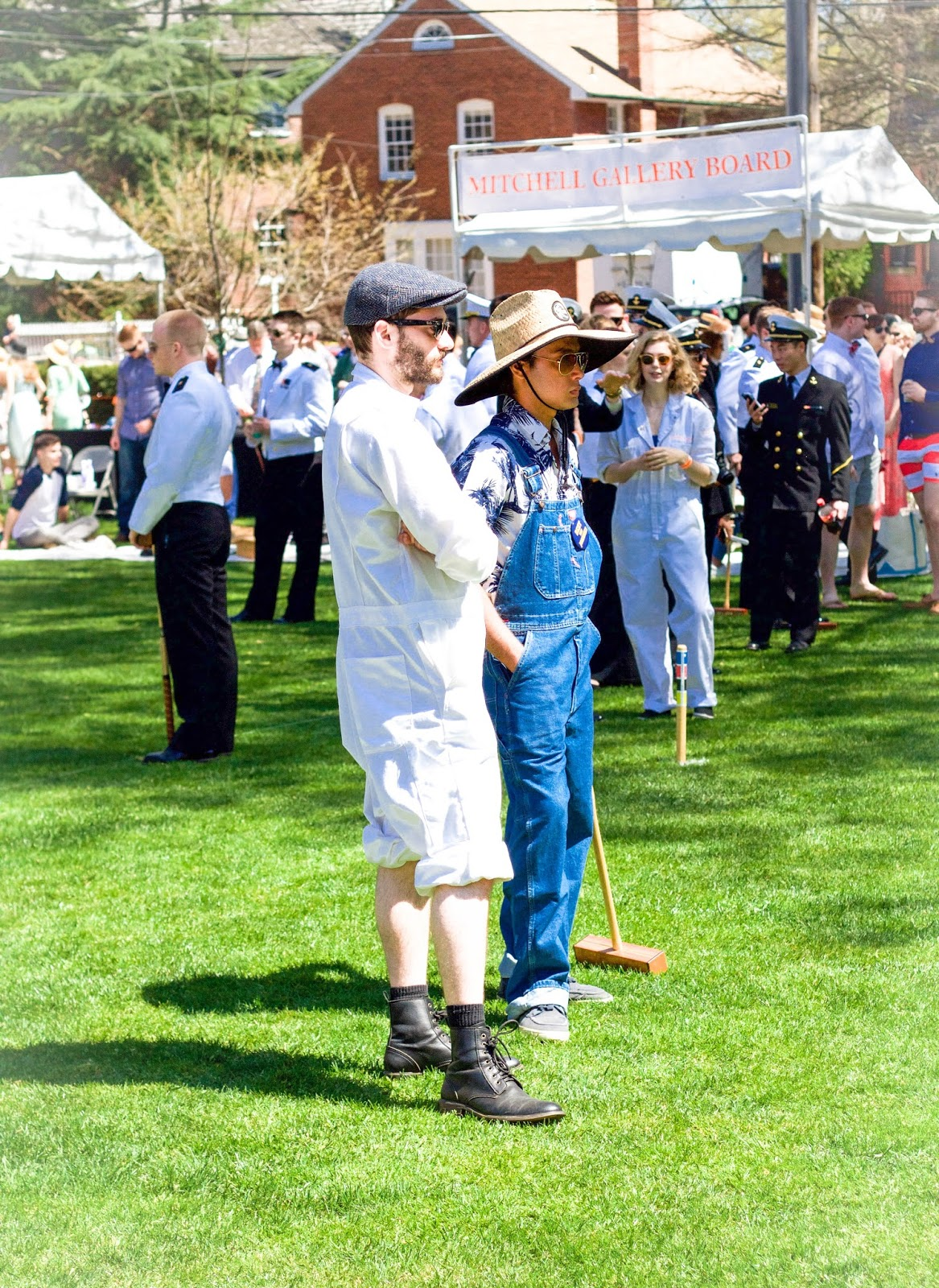 72a6bfc4f344 Below are some of my favorite pictures from our Day of Croquet: