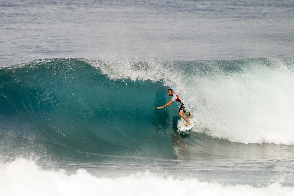 15 Joel Parkinson Billabong Pipe Masters Fotos WSL Kelly Cestari