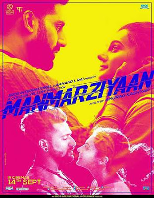 Manmarziyaan 2018 Hindi Full Movie Download 400MB HDRip 480p