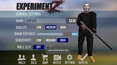Experiment Z Zombie Survival