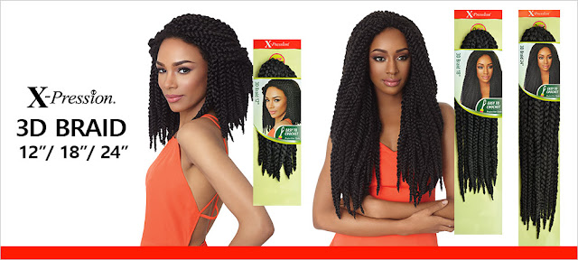 Outre 3D X-Pression Crochet Braids Review | on HairliciousInc.com