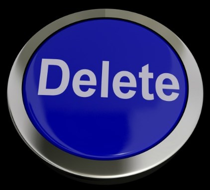 How to delete something on facebook