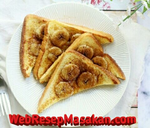 Banana French Toast, Resep banana French toast,