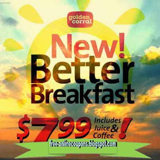 Free Printable Golden Corral Coupons